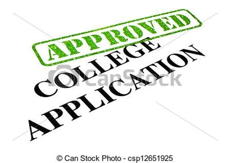 Sample application letter in college